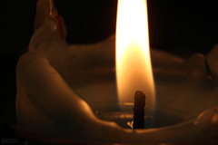 Candle 3.8.17.1 (jrbeckwith) Tags: 2017 picture photo project day pad jr beckwith jbeckr fortworth texas tx candle dark