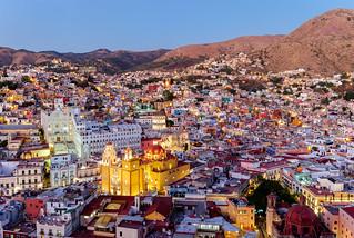 The magical town of Guanajuato, central Mexico