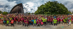 Ut4M Volunteers and runners at the Palais de Sports in Grenoble (Ut4M) Tags: france grenoble pano fr techniques palaisdessports rhnealpes benevols ut4m2015