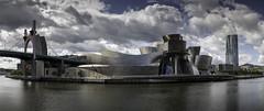 Guggenheim (jorge.alonsodejuan) Tags: panorama museum landscape cityscape sony bilbao guggenheim a7rii