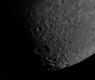 Moon Mosaic - Clavius region / Mesec mozaik - Klavijus region