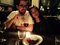 Celebrating with friends. Upstate (minka6) Tags: birthday germantown mike engagement celebration cynthia gaskins