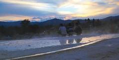 Welcoming cold evening over hot water spring (Boysimangunsong) Tags: tarutung tapanuliutara hotwaterspring travel indonesia