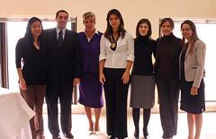 Parte da equipe do escritório Edgard Leite Advogados Associados