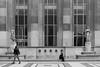 Reciprocity (teocastel) Tags: street white black paris france love look architecture europe looking romance rue regard trocadéro romantique reciprocity privi privire