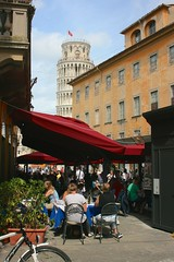 Pisa (Brian Aslak) Tags: street city people urban italy tower europe italia pisa tuscany duomo toscana torrependente