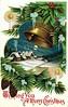 Antique Christmas Postcard - Bell Ringing (Brynn Thorssen) Tags: santa christmas xmas red holiday snow green vintage gold antique holly postcards yule fatherchristmas santaclaus merrychristmas santaklaus happynewyear happychristmas yuletide oldsaintnick срождеством срождествомхристовым