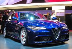Alfa Romeo Giulia Quadrifoglio (rvandermaar) Tags: alfa romeo alfaromeo giulia quadrifoglio alfaromeogiulia alfagiulia alfaromeogiuliaquadrifoglio