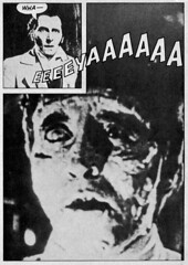 Peter Cushing as Dr. Frankenstein from Famous Monsters #87 (1971) (Tom Simpson) Tags: film vintage comics frankenstein horror famousmonsters drfrankenstein petercushing