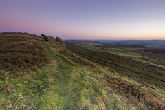 Sunset colours (Gareth Seeley) Tags: sunset rock canon landscape eos is colours district peak edge l 5d f4 1635 mkiii stannage