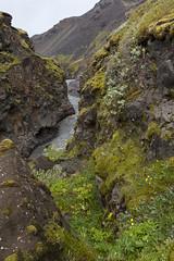 Landschaft von Emstrur / Botnar nach Thorsmörk Langidalur, Laugavegur - Trekking auf Island