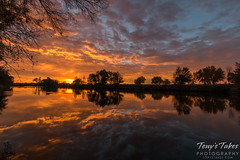 October 18, 2015 - An amazing sunrise along the South Platte River. (Tony's Takes)