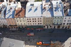 Rynok - Kilts a Vroshza tornybl (sandorson) Tags: travel lviv ukraine galicia lvov  lww lemberg galcia leopolis ukrajna    sandorson ilyv halics