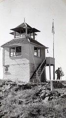 W-3-08 OldBaldy Lookout 1942 (Forest Service - Pacific Northwest) Tags: forest river photo historic national rogue siskiyou
