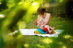 Butterfly (jcrusenphotography) Tags: people woman baby green leaves outdoors illinois child mother breastfeeding nursing centralillinois leleche jcrusenphotography theartofnursing