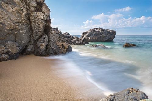 Wild, rocky beach