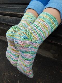 HG socks pattern by Olga Shkuta