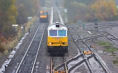 60066 at Kingsbury (robmcrorie) Tags: train lens nikon zoom 14 rail railway class oil british lindsey f56 railfan freight 60 warwickshire teleconverter kingsbury dbs 200500 60066 6m57