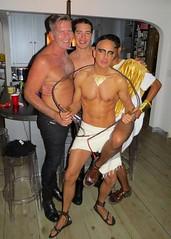 IMG_4048 (danimaniacs) Tags: shirtless man sexy guy halloween smile costume hunk