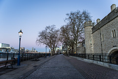 Dawn At The Tower Of London (hrschulz) Tags: city uk morning autumn london thames sunrise river landscape dawn sony sigma bluehour 24mm a7r