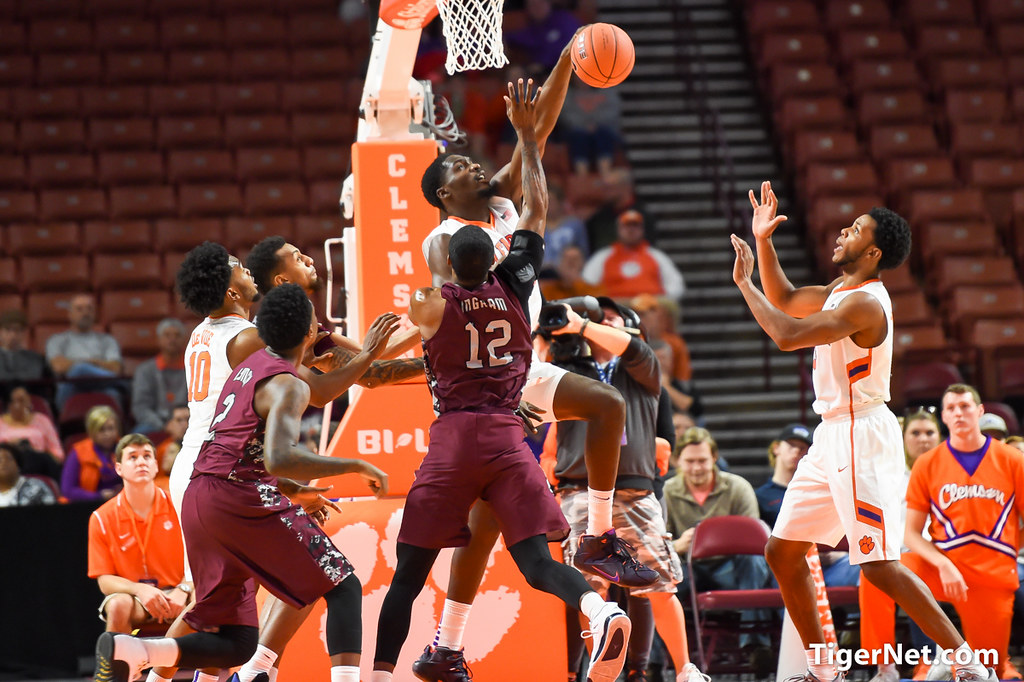 Clemson Photos: 2015, Basketball, Landry  Nnoko