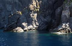 basalto che si tuffa (TheGiRLwithKaLeidoSCopeEyes88) Tags: mare sicilia eolie basalto panarea