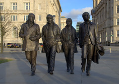 The Fab Four at The Pier Head (Keithjones84) Tags: statue liverpool statues beatles johnlennon cavern ringostarr pierhead rockandroll thebeatles paulmccartney georgeharrison fabfour merseyside merseybeat