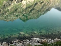 Lac Basto (angelo.cda) Tags: bridge nature montagne claire eau noir sony lac cybershot vert bleu t parc sacr voie refuge mercantour jumeaux pche valmasque fontanalbe vallon basto aquatique casterino dschx1