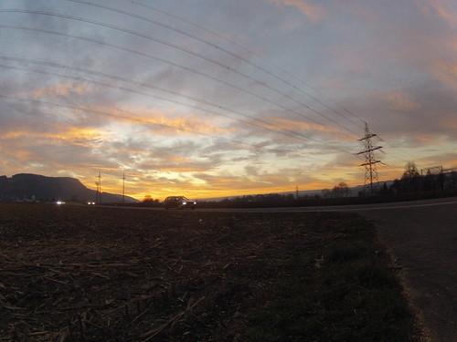 Nach dem Bözberg, Rhein und Aare entlang