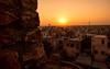 Impressions of India – 3 (Chizuka2010) Tags: nagaur india rajasthan travel inde voyage northindia indedunord sunset coucherdesoleil viewovernagaur ramparts fort fortsofrajasthan chizuka2010 luciegagnon
