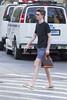 094A8833 v2 (Wheels Down) Tags: twink candid nyc street shorts legs bag shades sunglasses tshirt gold lv cute goldlamesneakers lame slipon sneakers