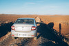 Heading into the Moroccan desert (ReinierVanOorsouw) Tags: beyondbordersmedia beyondborders beyondbordersutrecht travel travels sony sonya7r sonya7rii morocco moroc marokko maroc kingdomofmorocco reiniervanoorsouw reizen remotetravel reiniernothere reisfotografie reis desert dacia dacialogan car gravel gravelroad piste sunset shadow vsco offroad driving roadtrip