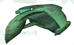 Unknown Space Fighter Free Papercraft Download (PapercraftSquare) Tags: spacefighter