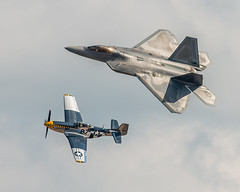 Air Force Fighter Pass (4myrrh1) Tags: airforce usaf military fighter flight flying flightdemonstrationteam legacy andrews md 2015 aircraft airplane aviation airshow airplanes airport canon 70d ef100400l colorful