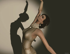 shadow (Eurídice Qork) Tags: model fashion fashionist sexy secondlife sl style shadow photoshop ps people photomanipulation