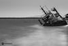 Shipwreck (Fotis Kanavos) Tags: sea water ship shipwreck longexposure blackwhite nd1000