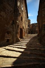 pitigliano . tuscany . italy (Ross Reyes) Tags: pitigliano tuscany toscana cinematic cinematicphotography cinematictravelphotography independenttravelphotography shadows shadowsandlight rossreyes steps