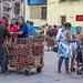 walking along Neptuno street havana cuba - 02