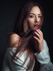 RAnia (aminefassi) Tags: portrait fashionportrait studio onelight godox octobox login morocco fashion mode aminefassi people