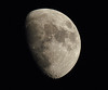 Moon010717 (kendoman26) Tags: moon waxinggibbous crater luna fuji fujifinepix fujifinepixs1 topazsoftware topazdetail tonightsmoon