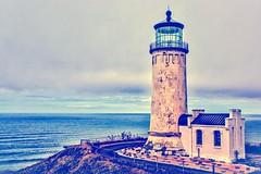 North Head Lighthouse--HSS! (amarilloladi) Tags: washington pacificnorthwest pacific ocean lighthouse sliderssunday hss