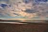 DSC_0026 (christophe_boron) Tags: plage deauville coucher soleil ciel nuage bleu sable