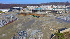 Owings Mills Mall Demolition - As of 1/15/17 (TenThirty.One) Tags: aerial owings mills mall demolition dead malls owingsmills deadmalls aerialvideos