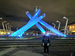 IMG_20170109_221555 (Sweet One) Tags: jackpooleplaza canadaplace vancouver bc britishcolumbia canada olympic cauldron night lights