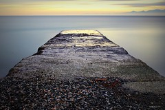 Outfall .... Explore (CanMan90) Tags: longexposure ocean nd10 plcir beach rossbaybeach victoria britishcolumbia vancouverisland learning canon rebelt3i efs1855mmf3556isii filters cans2s