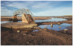 Bridge to Nowhere, Dunbar-2 (Gordon_Farquhar) Tags: dunbar west barns beach lothian ness lighthouse torness power station scotland scottish east coast