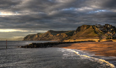 The coast at West Bay, Dorset (Baz Richardson (catching up again!)) Tags: dorset westbay coast cliffs beaches