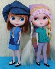 Blythe and Icy dolls