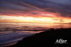(creationartistcoPHOTO) Tags: sunset moonstonebay california pink ocean shore waves purple foam