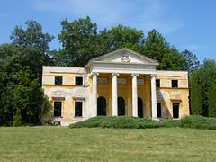 Alcsútdoboz, Habsburg-kastély portikusza (ossian71) Tags: magyarország hungary alcsútdoboz épület building műemlék sightseeing park kastély palace rom ruin arborétum arboretum